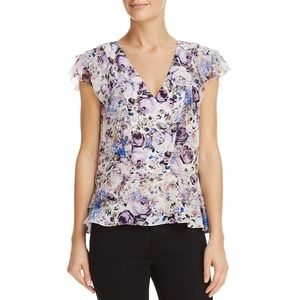 NWT Parker Silk Floral Blouse Top